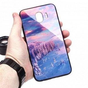 Глянцевый чехол для Samsung Galaxy J4 (2018), арт.010690