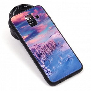 Глянцевый чехол для Samsung Galaxy A6 (2018), арт.010690