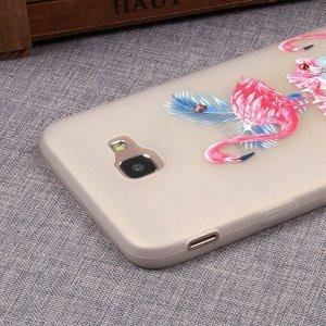 Матовый чехол со стразами для Samsung Galaxy J5 Prime, арт.009648