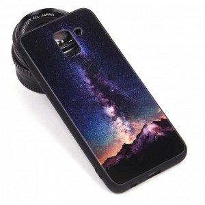 Глянцевый чехол для Samsung Galaxy J6 (2018), арт.010688