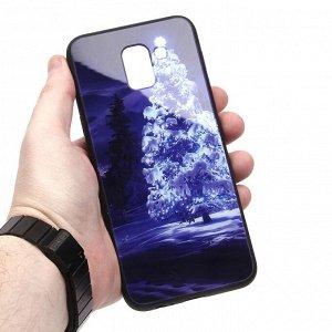 Глянцевый чехол для Samsung Galaxy J6 (2018), арт.010687