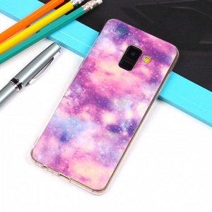 Матовый чехол для Samsung Galaxy A8 (2018), арт.010733