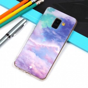 Матовый чехол для Samsung Galaxy A8 (2018), арт.010732