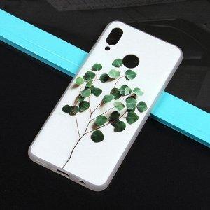 Чехол ТПУ с цветами для Huawei Nova 3, арт.010773