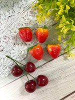 Искусственные фрукты набор 4 ягодки