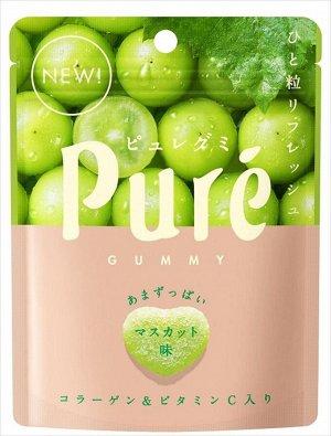 KANRO Pure Gummy - сахарные мармеладные сердечки