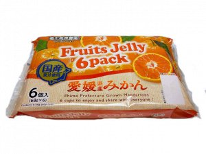 Wakayama Sangyo Ehime Mikan Jelly - желе из мандаринов префектуры Эхимэ