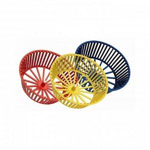 Колесо для грызунов пластиковое, без подставки, 20 см, микс цветов