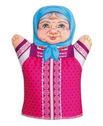 """Домашний  кукольный театр. Кукла-перчатка """"Бабушка"""""""
