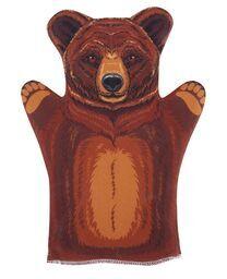 """Домашний  кукольный театр. Кукла-перчатка """"Медведь"""""""