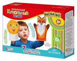 "Домашний кукольный театр. ""Колобок"" (7 кукол-перчаток)"
