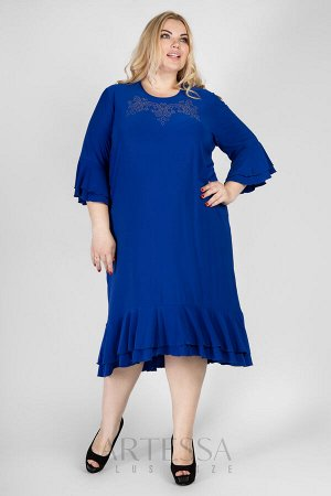 Платье PP23107BLU08