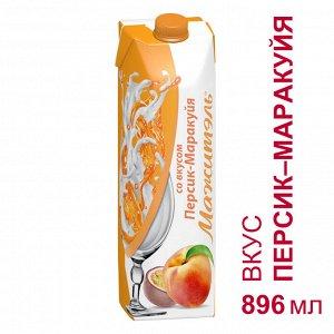 Напиток сывороточно-молочный Мажитэль Персик-Маракуйя 0.05% 950г