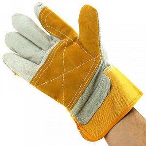 """Перчатки рабочие из выворотки """"Люкс"""" размер L, 12,5х26см (Ки"""