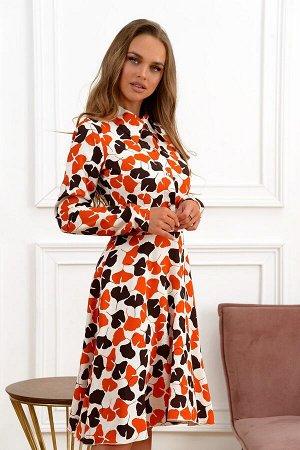 Платье Размер: 42 / 48; Цвет: Шикарное платье из хлопковой ткани. Перед до пояса, застегивается красивыми пуговками со стразами. Отличная посадка по фигуре.