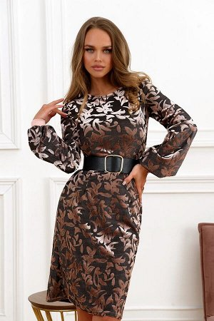 Платье Красивое платье из бежевого пан-бархата . Идеальная посадка платья . Ремень не входит в комплект . Юбка на подкладе . Идеальная посадка по фигуре