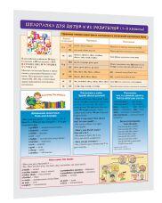 Английский язык. Шпаргалка для детей и их родителей (1-3 классы) . Макарова Е. В. Составитель