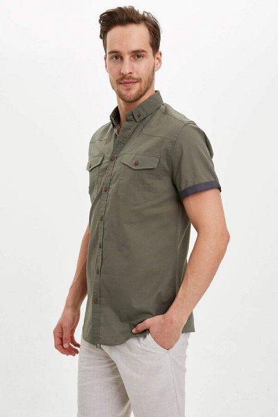 DEFACTO -рубашки, футболки, поло, брюки, платья — РУБАШКИ / Сорочки мужские — Рубашки