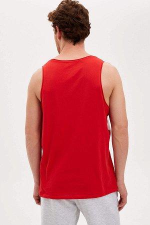 майки Размеры модели: грудь: 96 талия: 77 бедра: 94 Надет размер: M  Хлопок 100%