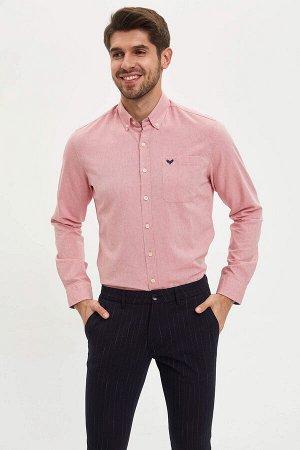 рубашка Размеры модели: рост: 1,89 грудь: 100 талия: 74 бедра: 97 Надет размер: M  Хлопок 100%