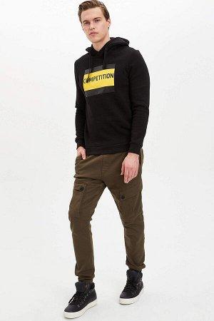 брюки Размеры модели: рост: 1,89 грудь: 98 талия: 80 бедра: 95 Надет размер: 30  Хлопок 65%,Elastan 2%, Полиэстер 33%