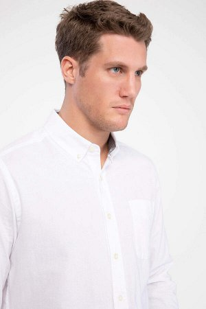 рубашка Размеры модели: рост: 1,88 грудь: 100 талия: 80 бедра: 95 Надет размер: M  Хлопок 100%