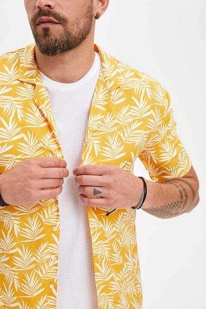 рубашка Размеры модели: рост: 1,82 грудь: 98 талия: 81 бедра: 96 Надет размер: L  Вискоз 100%