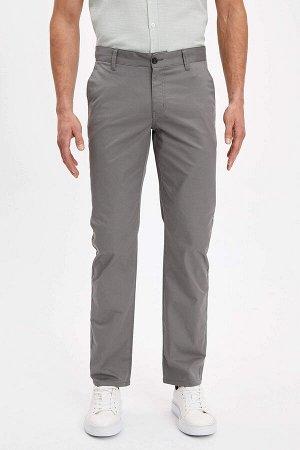 брюки Размеры модели: рост: 1,88 грудь: 100 талия: 79 бедра: 96 Надет размер: размер 30 - рост 32  Хлопок 98%,Elastan 2%