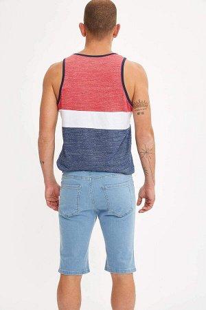 шорты Размеры модели: рост: 1,83 грудь: 98 талия: 82 бедра: 96 Надет размер: 30 Elastan 2%, Хлопок 98%