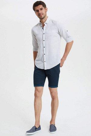 шорты Размеры модели: рост: 1,89 грудь: 100 талия: 74 бедра: 97 Надет размер: 30  Хлопок 100%