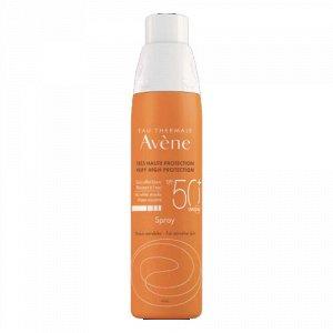 Авен Солнцезащитный спрей для чувствительной кожи SPF 50+, 200 мл (Avene, Suncare)