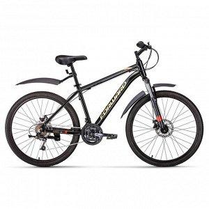"""Велосипед 26"""" Forward Hardi 2.0 disc, 2020, цвет черный, размер 17"""""""