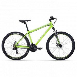 """Велосипед 27,5"""" Forward Sporting 2.0 disc, 2020, цвет светло-зелёный/серый, размер 19"""""""