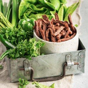 Растительные джерки со вкусом говядины