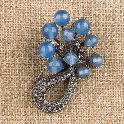 Самоцветы - браслеты из натуральных камней — Натуральный камень — Броши