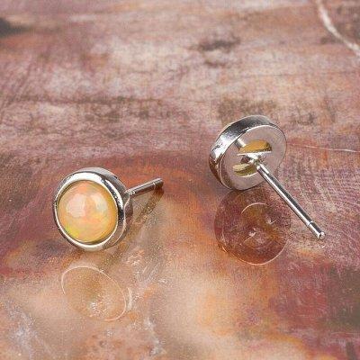 Самоцветы - серьги, пусеты из камней в наличии — Серьги, пусеты — Серьги