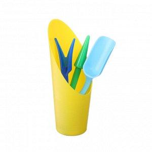 Набор посадочного инструмента, 4 предмета: лопатка, вилка, конус, стаканчик