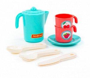 Набор детской посуды Анюта на 2 персоны (V3) (12 элементов) (в сеточке)