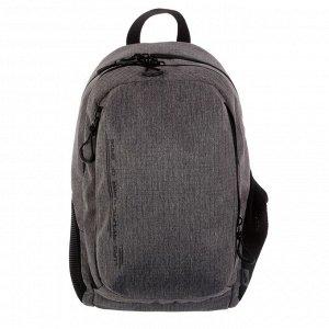 Рюкзак молодёжный, Luris «Тейди», 44 х 28 х 18 см, эргономичная спинка, тёмно-серый
