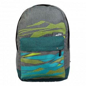 Рюкзак молодёжный Luris «Эра», 38 x 28 x 19 см, эргономичная спинка, «Камуфляж»
