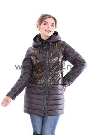 Куртка Plist 14283_Р (Коричневый 46)
