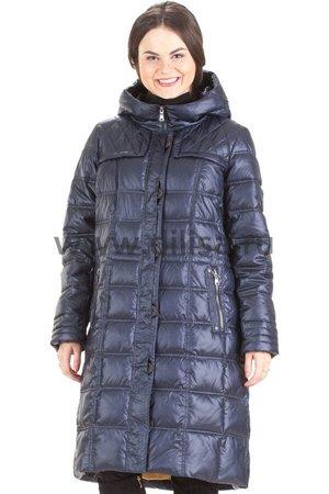 Пальто без меха Mishele 9927-1_Р (Синий)