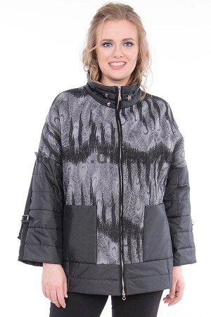 Куртка Chiago 8098_Р (Черный/Серый NT22)