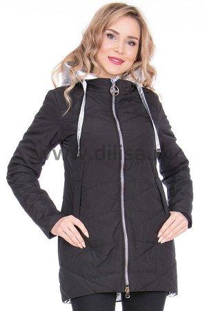 Куртка Visdeer 8525_Р (Черный/серебро 18-1)