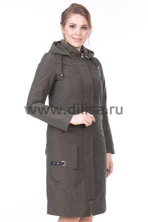 Пальто Mishele 591-1_Р (Хаки ZXC58)