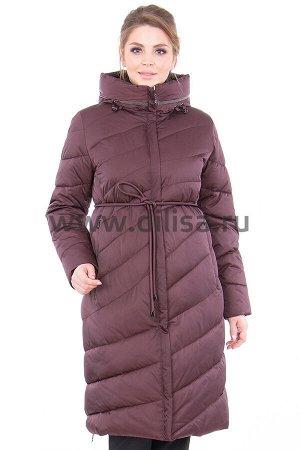 Пальто Plist 9885_Р (Темная вишня 6882-530)