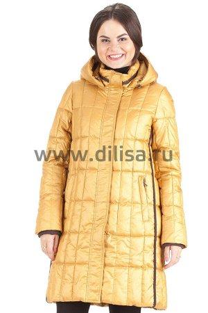 Пальто без меха Mishele 16112-02_Р (Горчица D16)