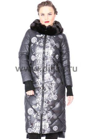 Пальто Visdeer 6097_Р (Черный 01)