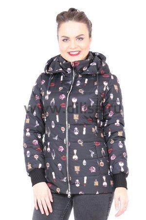 Куртка Towmy 2369_Р (Черный 001)