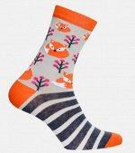 Носки женские Sock's point серый
